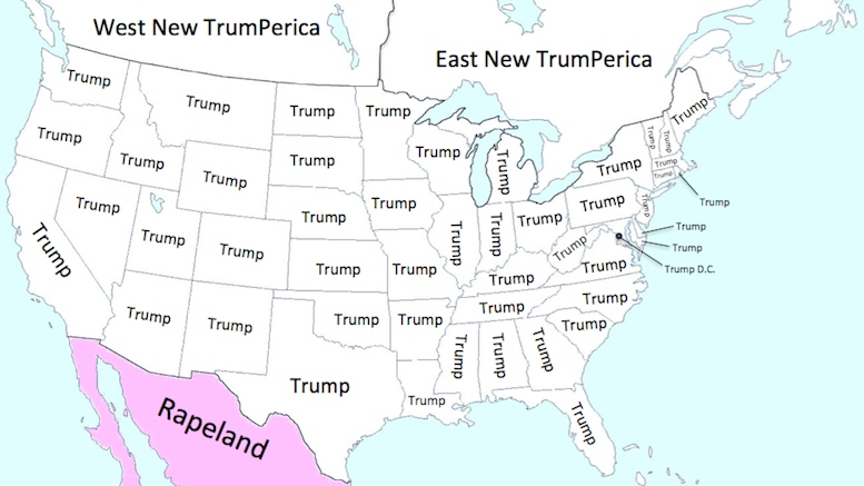 What North America will look like under The Donald.