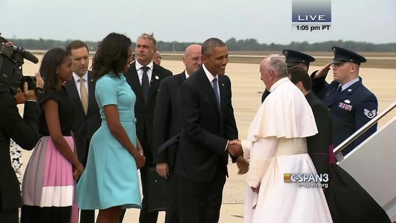 Pope Francis visit to US.