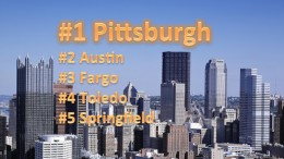 Pittsburgh Is Number One Again.