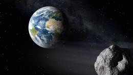 Asteroid misses Earth by 15 million miles.