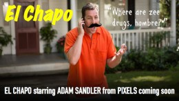 El Chapo movie starring Adam Sandler to be funded by Feds.