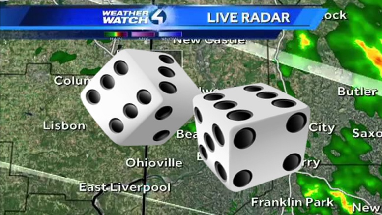 WTAE To Let Pair Of Dice Forecast The Weather Tonight