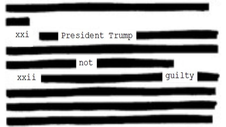 Image result for barr redactions