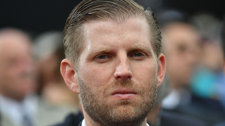 "Chicago Server Denies Spitting At Eric Trump ""He's not my type"""