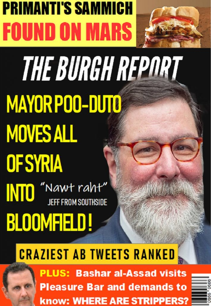 The Burgh Report coming soon!